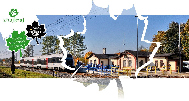 Pociąg PKM na stacji w Gołubiu Kaszubskim