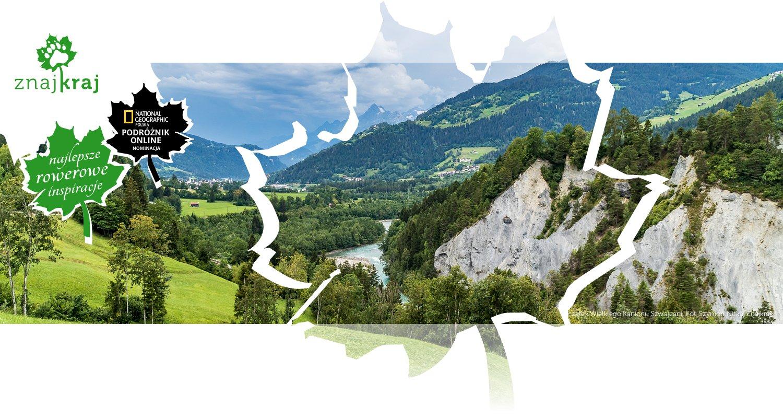 Początek Wielkiego Kanionu Szwajcarii