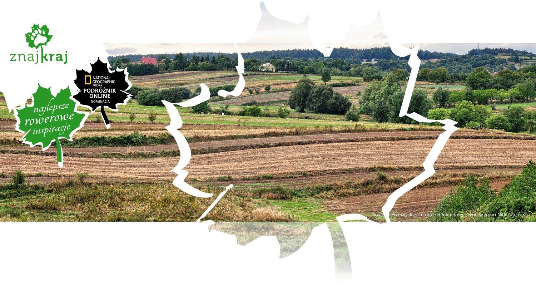 Pogórze Przemyskie za fortem Orzechowce