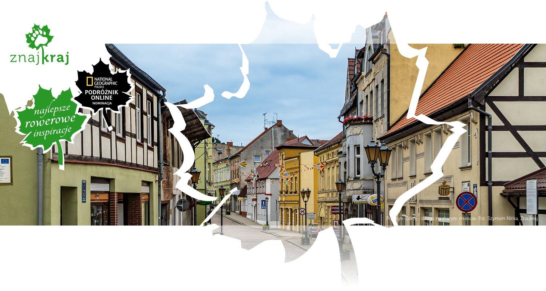Połczyn-Zdrój - droga na starym mieście