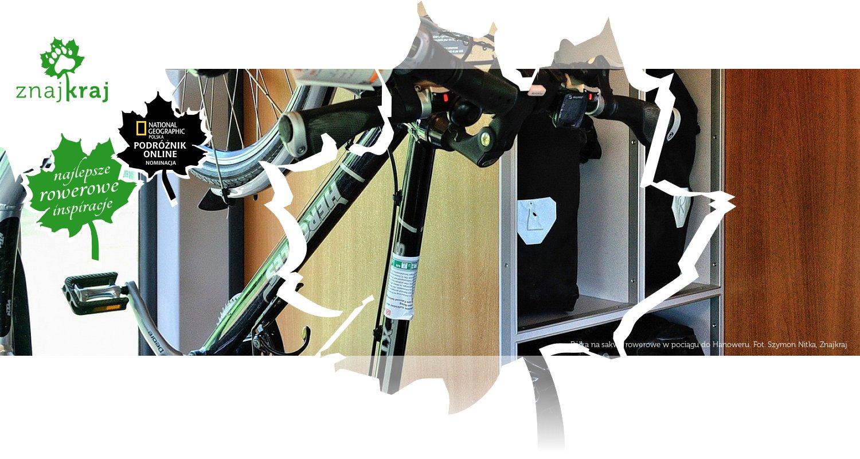 Półka na sakwy rowerowe w pociągu do Hanoweru