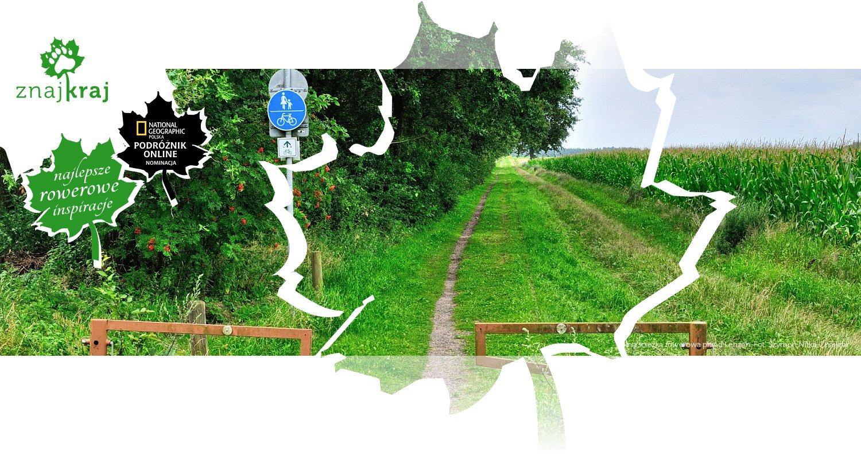 Polna ścieżka rowerowa przed Lenzen
