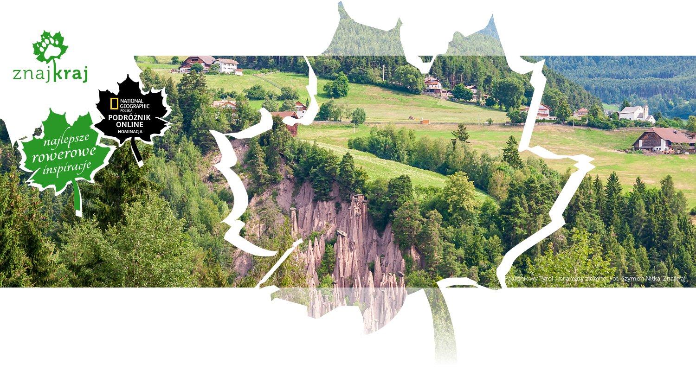 Południowy Tyrol - piramidy ziemne