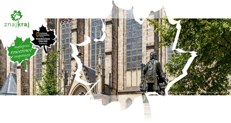 Pomnik Jana Sebastiana Bacha przed kościołem św. Tomasza w Lipsku
