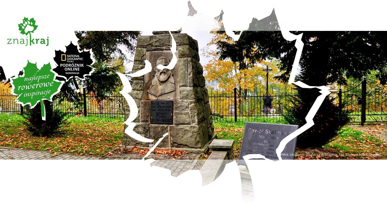 Pomnik lokalnego działacza w Istebnej