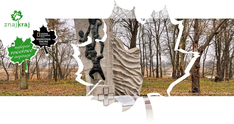 Pomnik-odznaczenie Rejonu Pamięci Narodowej w Starych Łysogórkach