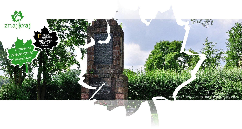 Pomnik ofiar II wojny światowej w Boberow
