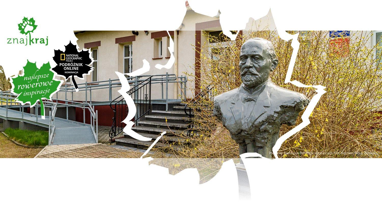 Popiersie Emila von Behringa w Ławicach
