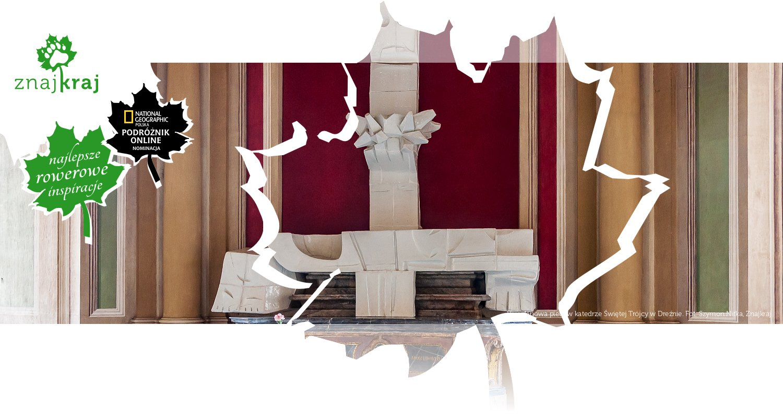 Porcelanowa pieta w katedrze Świętej Trójcy w Dreźnie