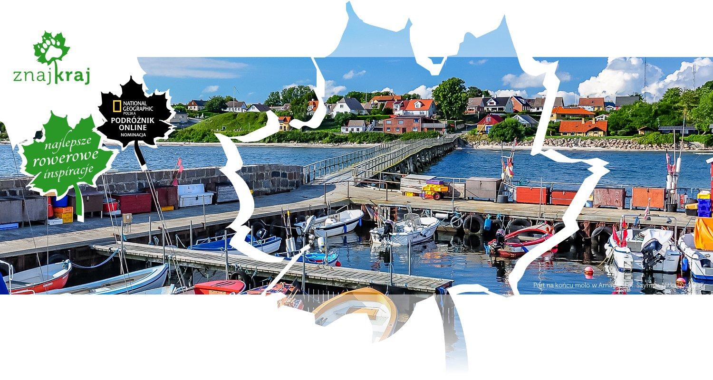 Port na końcu molo w Arnager