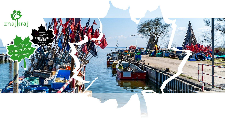 Port rybacki w Piaskach na Mierzei Wiślanej