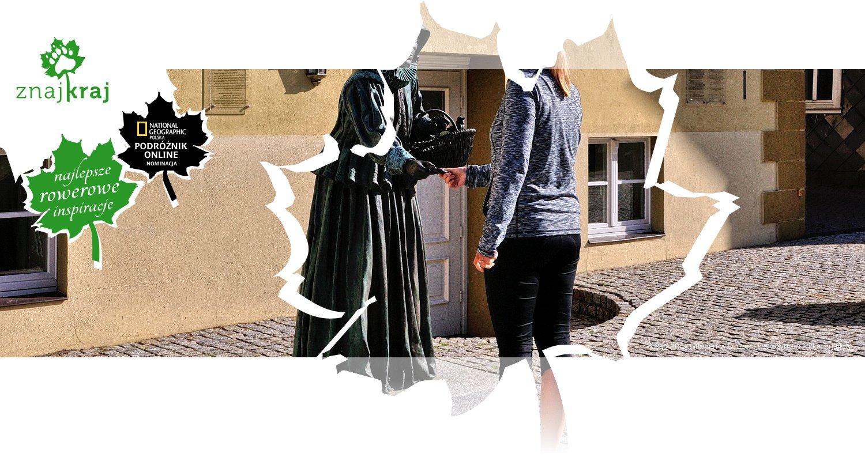Posąg Anny Grieben w Lenzen
