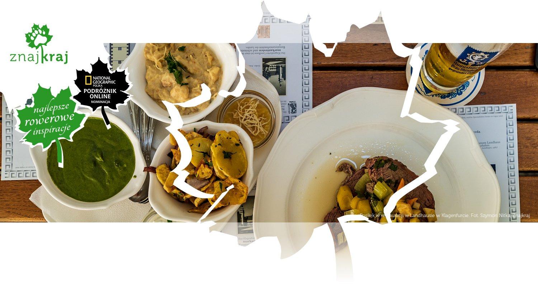 Posiłek w restauracji w Landhausie w Klagenfurcie