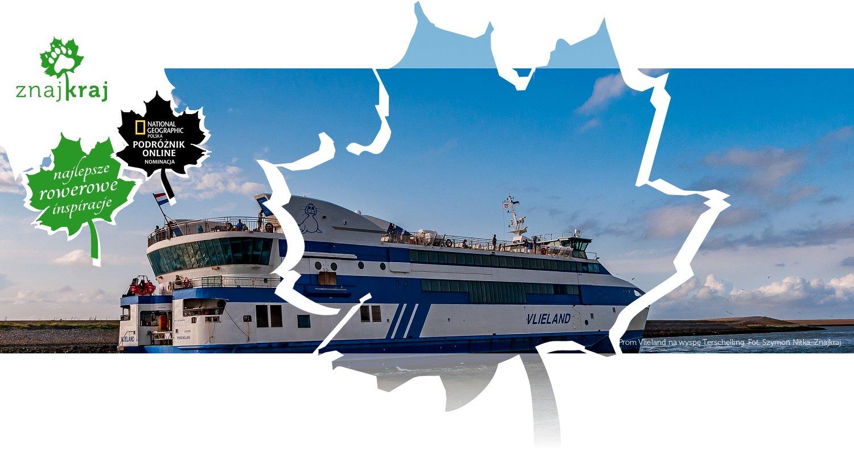 Prom Vlieland na wyspę Terschelling