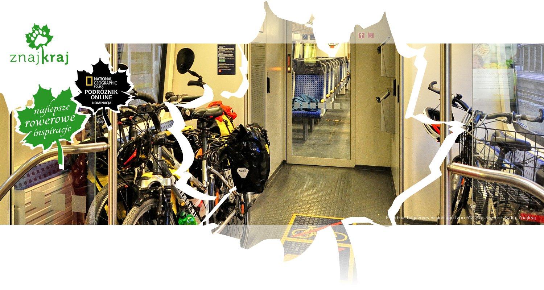 Przedział bagażowy w pociągu typu 612