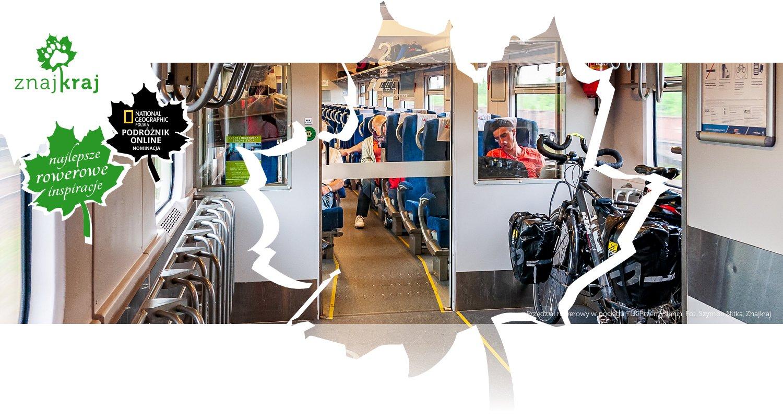 Przedział rowerowy w pociągu TLK Przemyślanin
