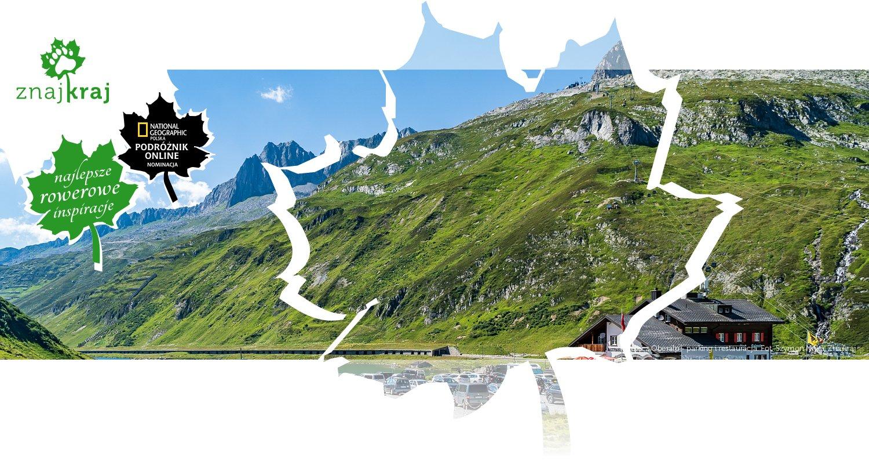 Przełęcz Oberalp - parking i restauracja