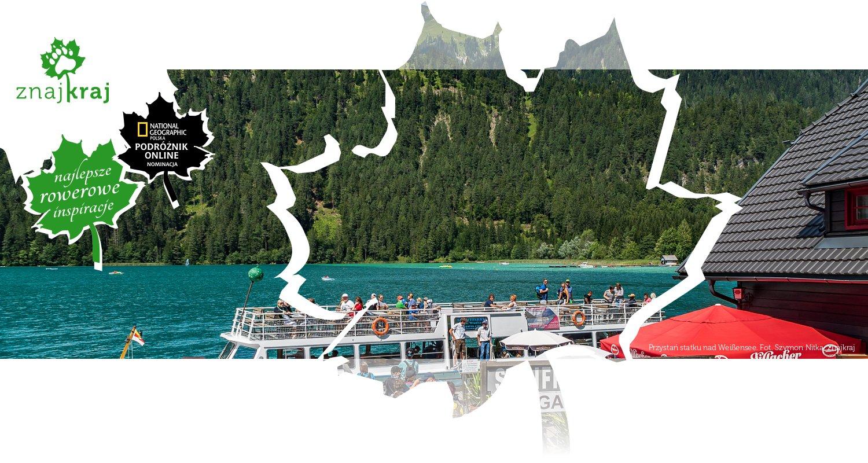 Przystań statku nad Weißensee