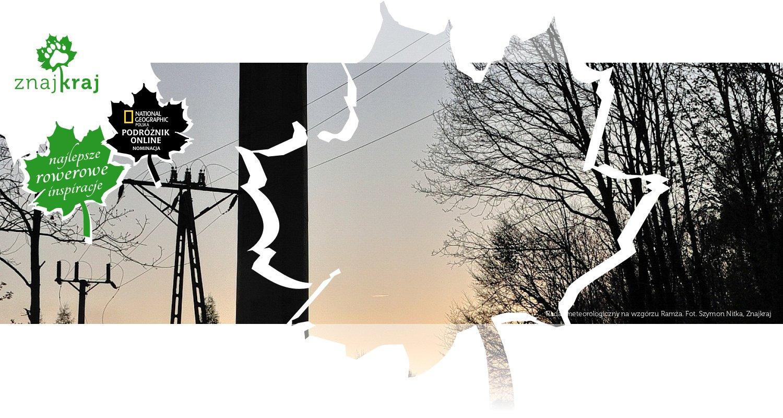 Radar meteorologiczny na wzgórzu Ramża