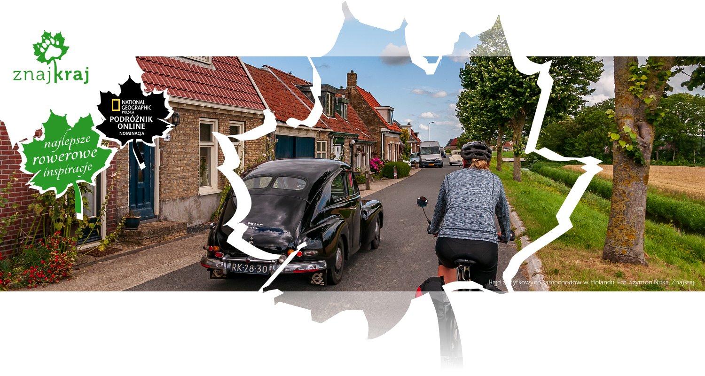 Rajd zabytkowych samochodów w Holandii