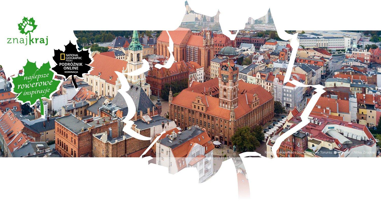 Ratusz Staromiejski i Stare Miasto w Toruniu