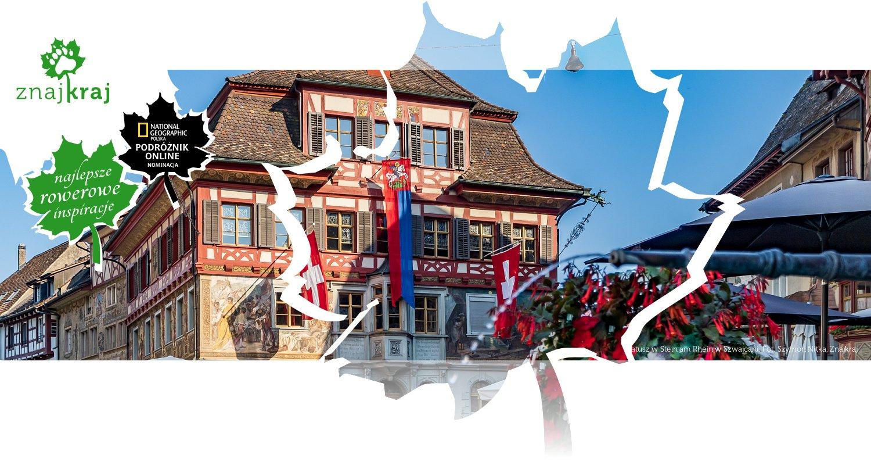Ratusz w Stein am Rhein w Szwajcarii