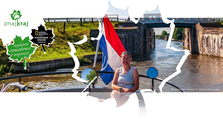 Rejs po kanałach Holandii