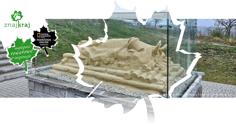 Rekonstrukcja stosu całopalnego w Czelinie