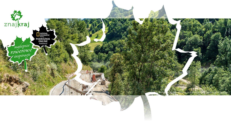 Remont na drodze rowerowej w dolinie Renu