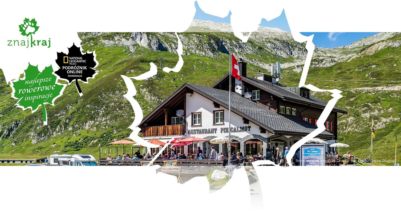 Restauracja na przełęczy Oberalp
