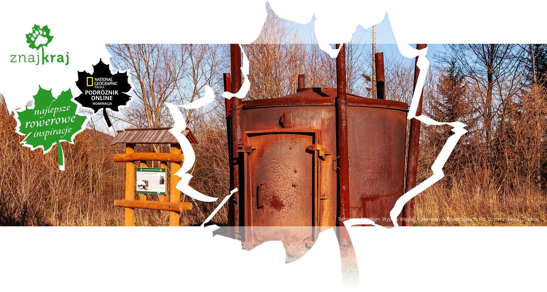Retorta w Muzeum Wypału Węgla Drzewnego w Bieszczadach