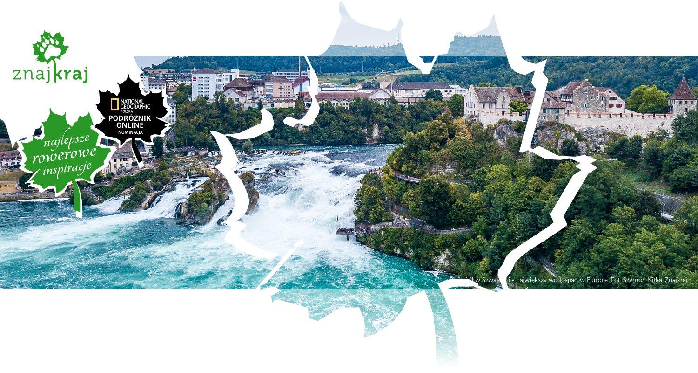 Rheinfall w Szwajcarii - największy wodospad w Europie