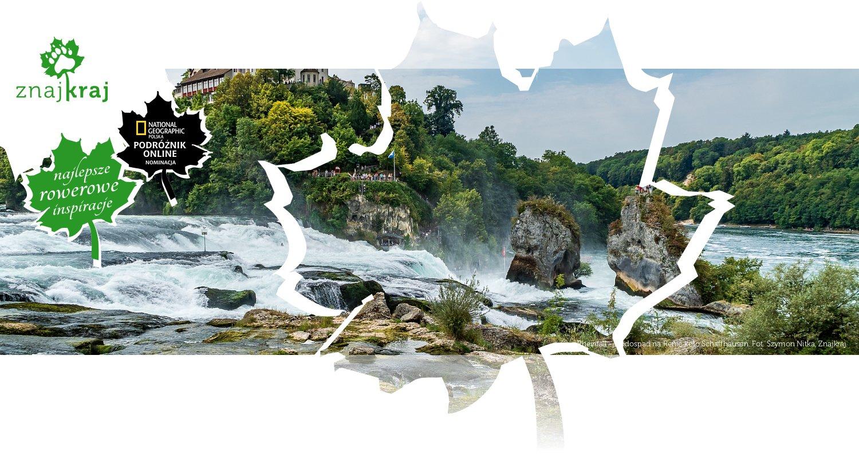 Rheinfall - wodospad na Renie koło Schaffhausen