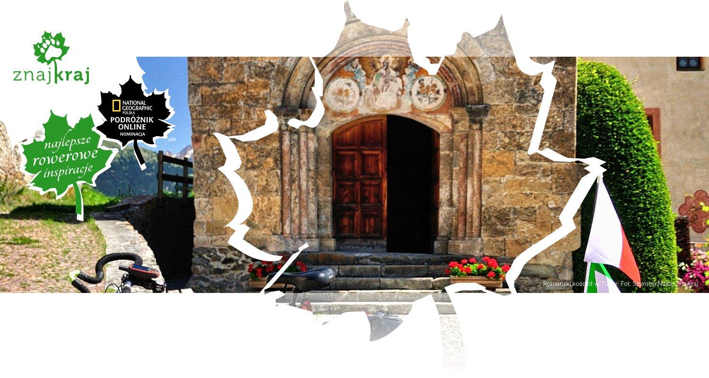 Romański kościół w Tubre