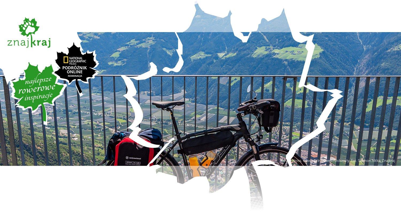 Rower Kross, sakwy Extrawheel i Dolomity