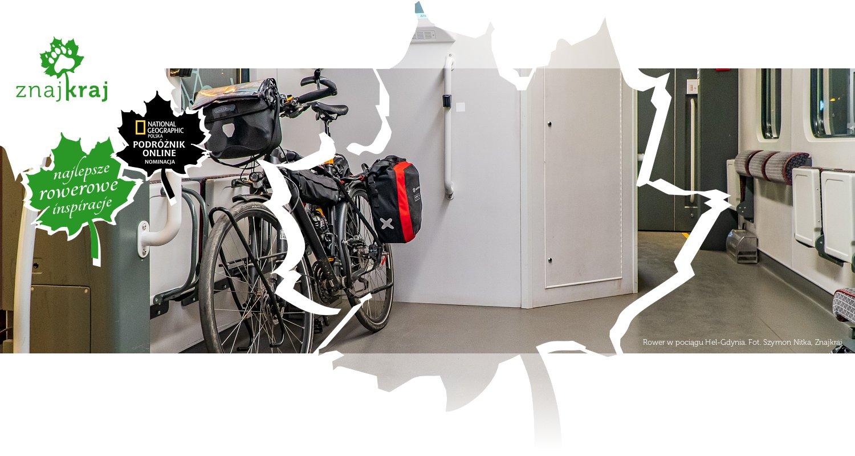 Rower w pociągu Hel-Gdynia