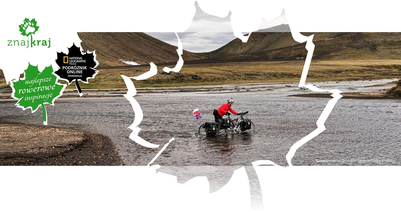 Rowerem przez bród