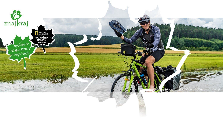 Rowerem przez lokalne podtopienia w Niemczech
