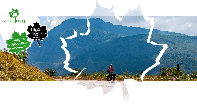 Rowerem przez szczytowe partie Apeninów
