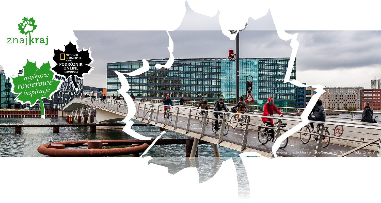 Rowerowa infrastruktura w Kopenhadze