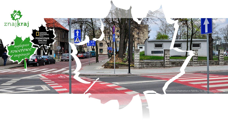 Rowerowa infrastruktura w Rybniku