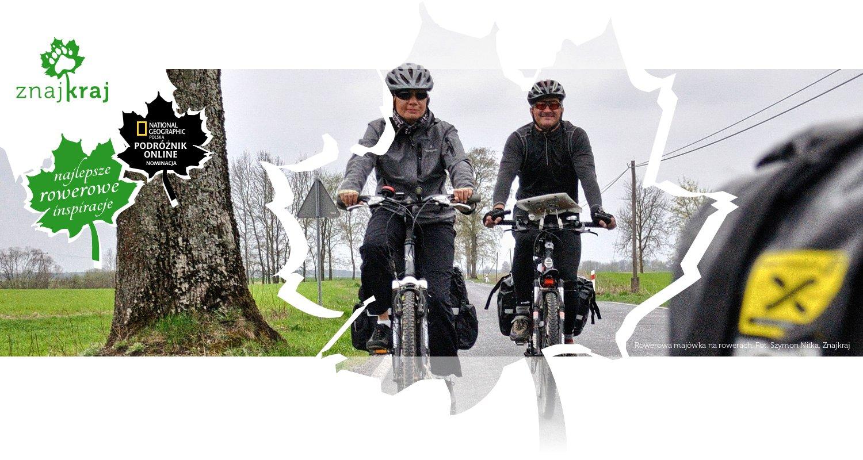 Rowerowa majówka na rowerach