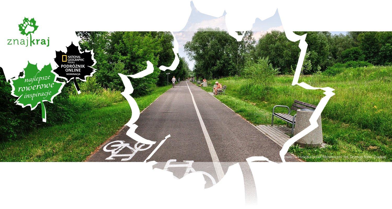 Rowerowa ścieżka przed Rzeszowem