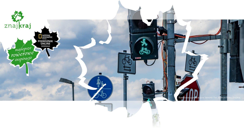 Rowerowa sygnalizacja w Saksonii