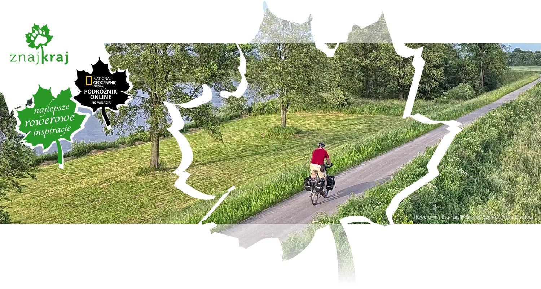 Rowerowa trasa nad Wisłą