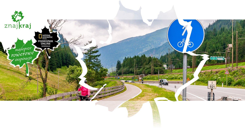 Rowerowa trasa tuż koło Brenner
