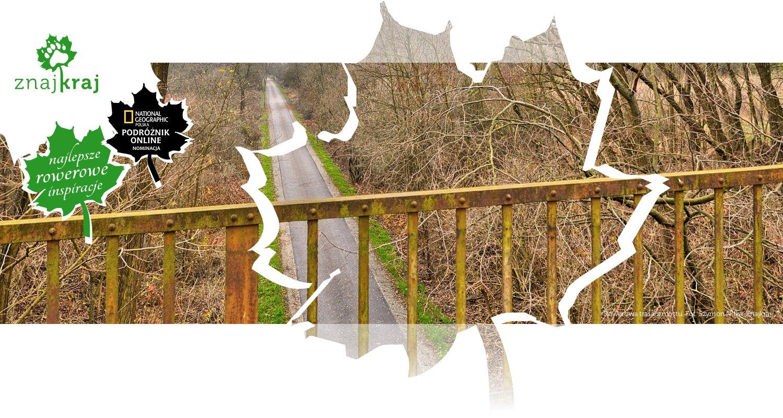 Rowerowa trasa z mostu