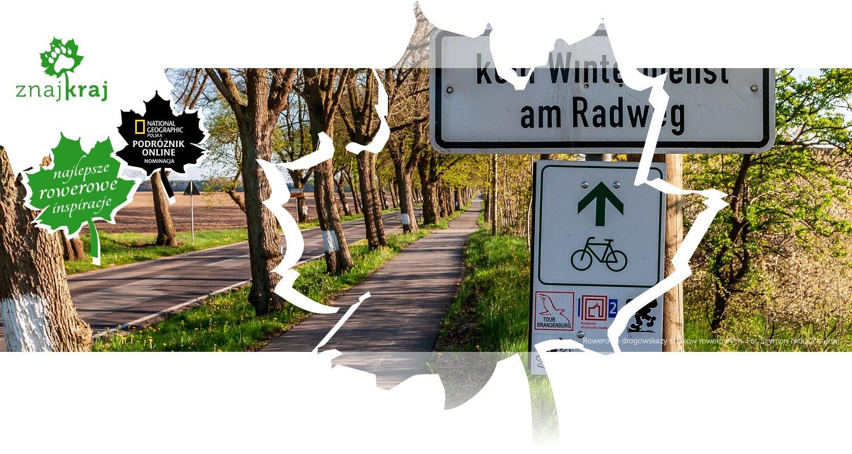 Rowerowe drogowskazy szlakow rowerowych