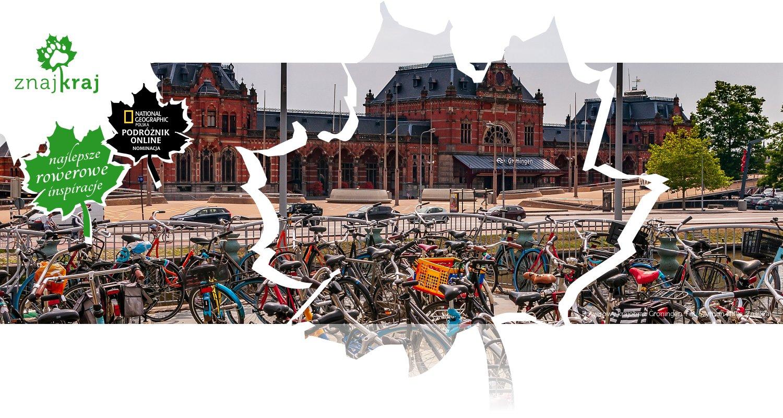 Rowerowy krajobraz Groningen