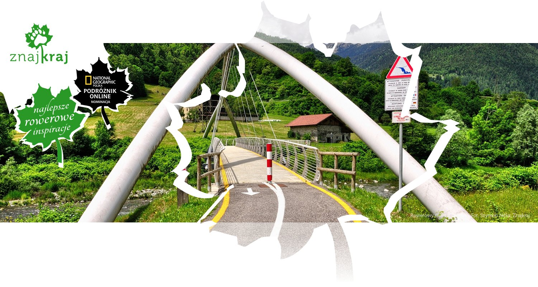Rowerowy most z Trentino